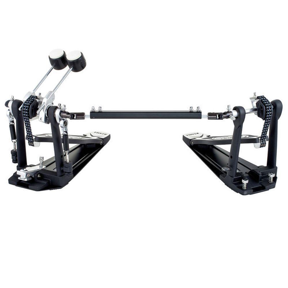 Pedal Duplo de Bumbo Tama HP600DTW Iron Cobra para Bateria