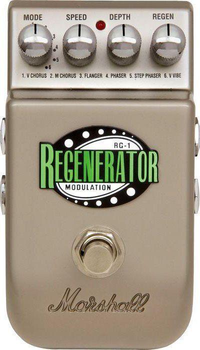 Pedal Marshall RG-1 Regenerator Modulation