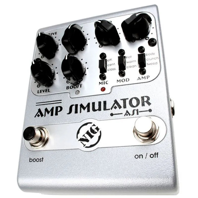 Pedal Nig AS1 AMP Simulator Overdrive/Booster