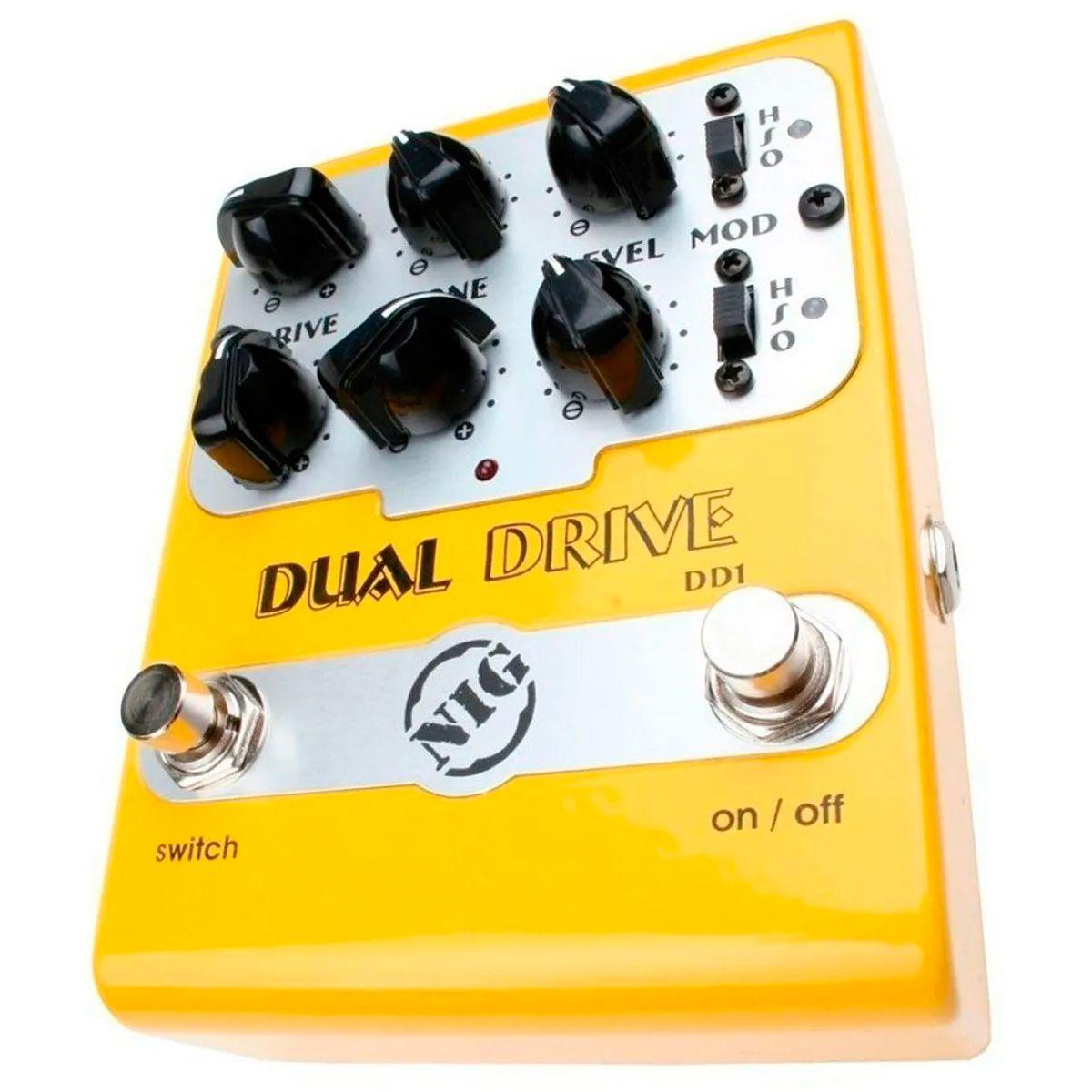 Pedal Nig DD1 Dual Drive 9V True Buffer Bypass