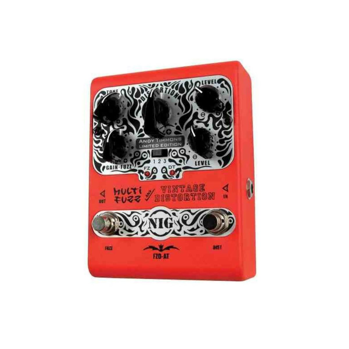 Pedal Nig Multi Fuzz Vintage Distortion Andy Timmons FZD-AT