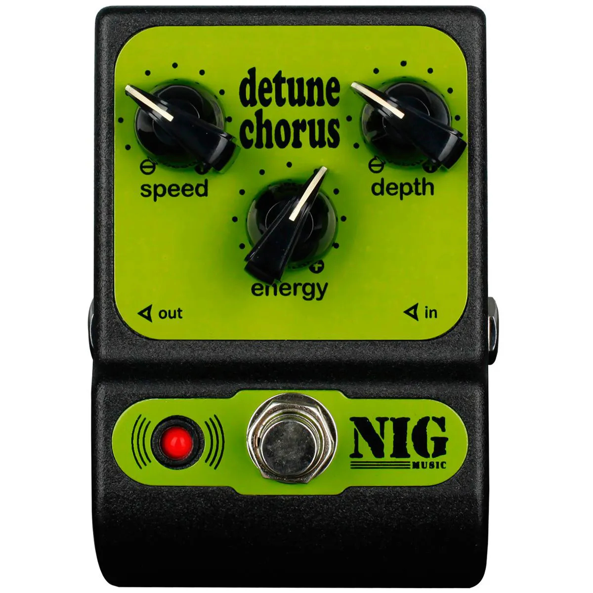 Pedal Nig Pocket Detune Chorus PCH 9V True Bypass