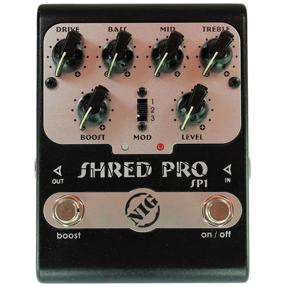 Pedal Nig SP1 Shred Pro Distortion/Booster Dual