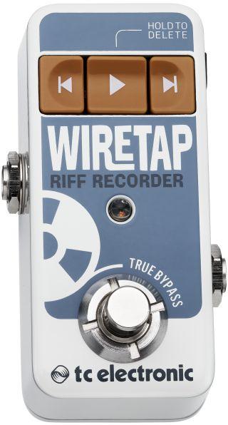 Pedal TC Electronic Wiretap Riff Recorder