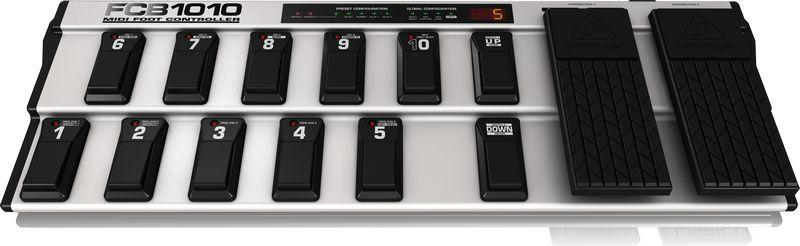 Pedaleira Behringer FCB1010 Midi Foot Controller