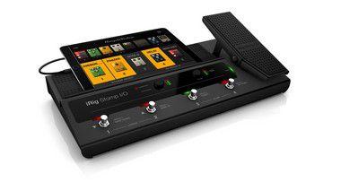 Pedaleira IK Multimedia iRig Stomp I/O Control USB Audio Interface