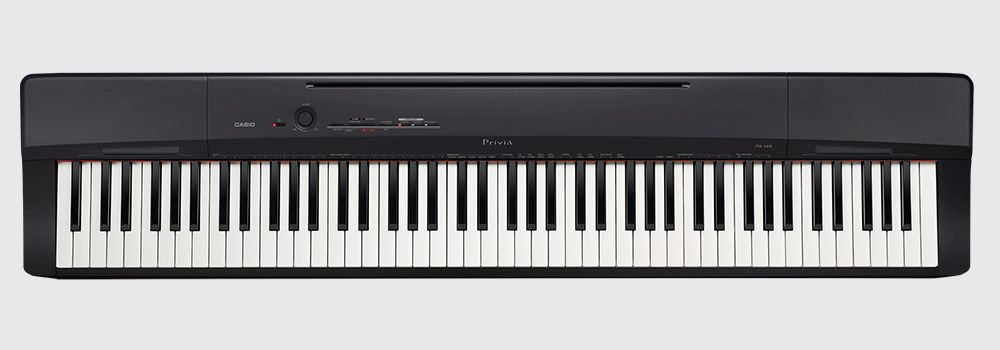 Piano Digital Casio Privia PX-160 Preto 88 Teclas