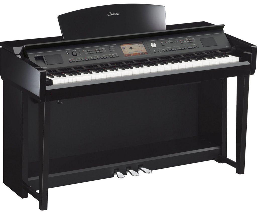 Piano Digital Yamaha Clavinova CP7V05 88 Teclas com Estante