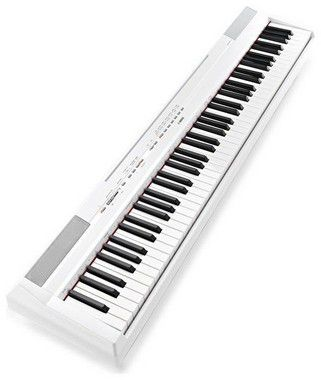 Piano Digital Yamaha P115 Graded Hammer Standard White 88 Teclas