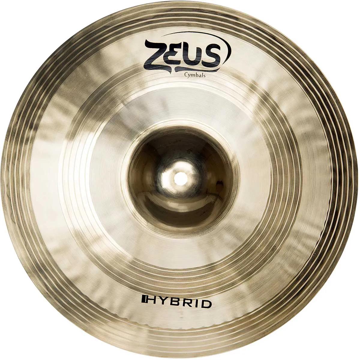 Prato Chimbal Zeus Cymbals Hybrid ZHHH14 14
