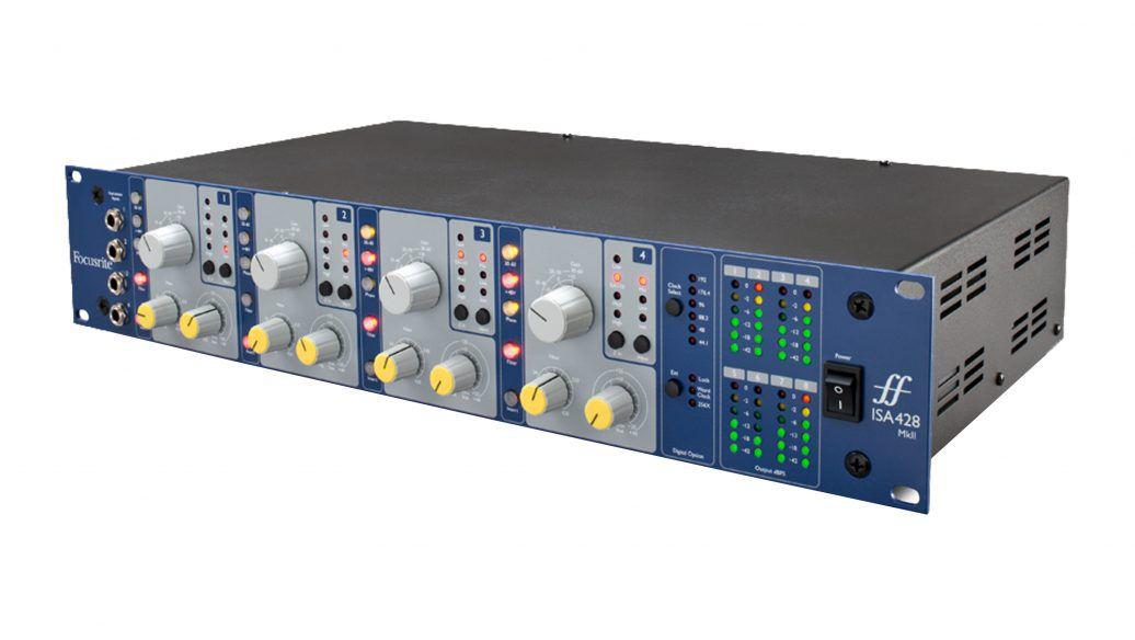 Pré Amplificador Focusrite ISA 428 MKII