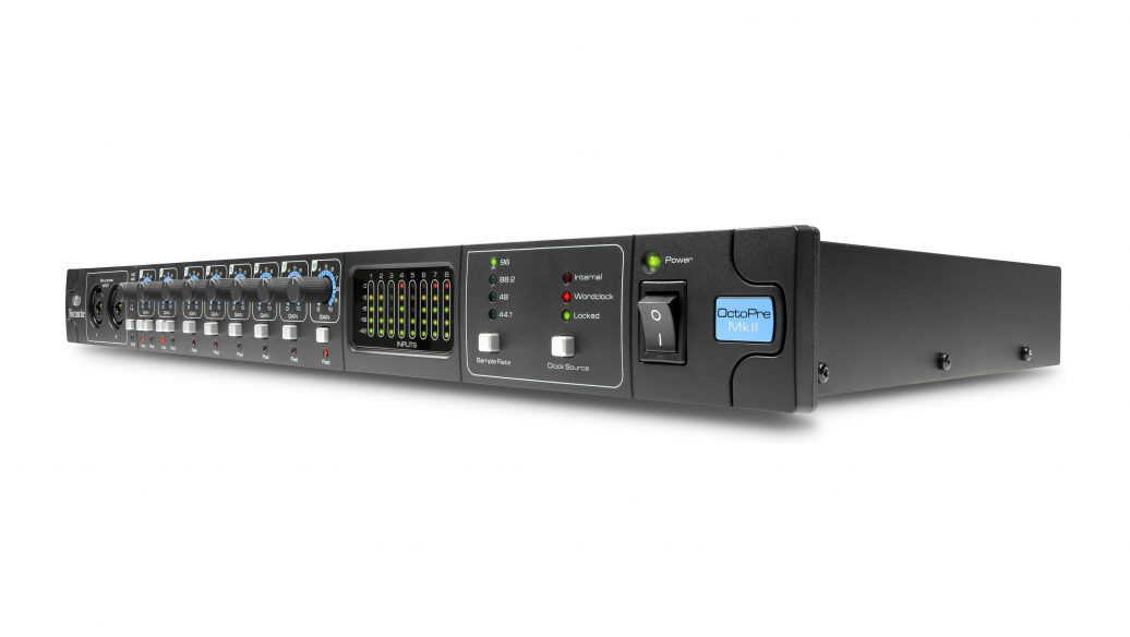Pré Amplificador Focusrite OctoPre MKII ADAT