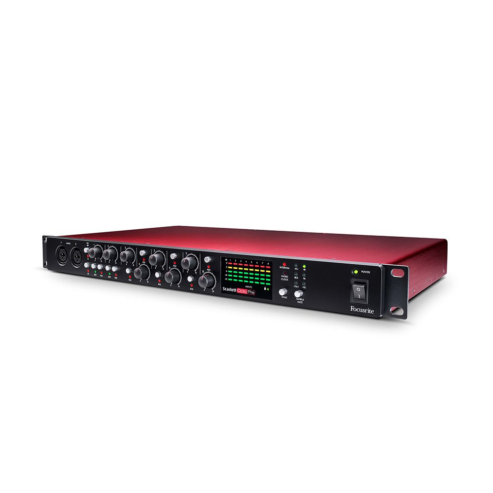 Pré Amplificador Focusrite Scarlett OctoPre ADAT 8 Canais