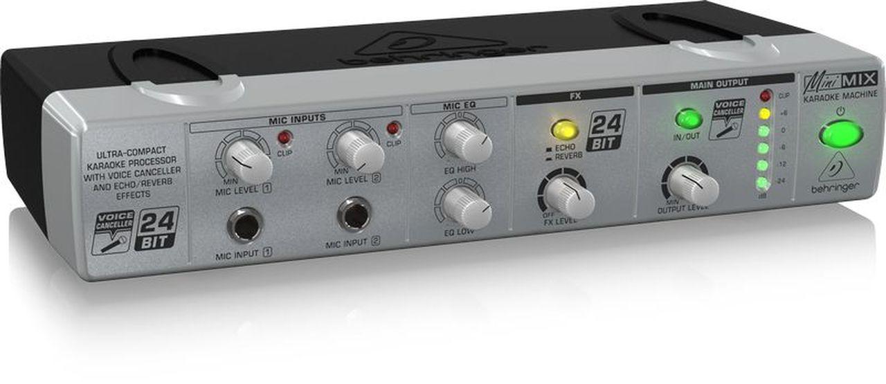 Processador Behringer Minimix MIX800 para Karaokê