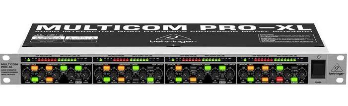 Processador Behringer Multicom PRO-XL MDX4600