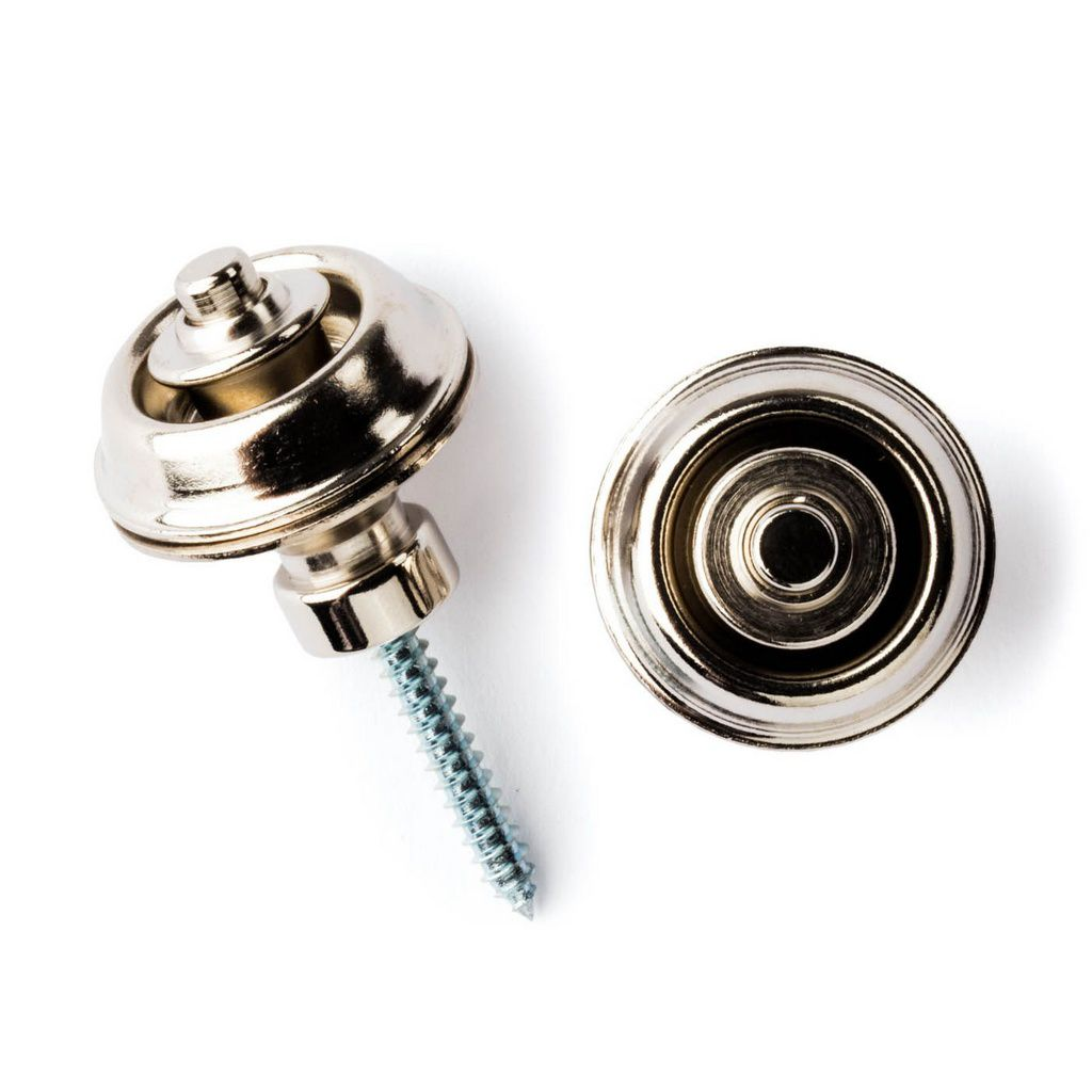 Roldana Dunlop Straplock Dual Desing Nickel