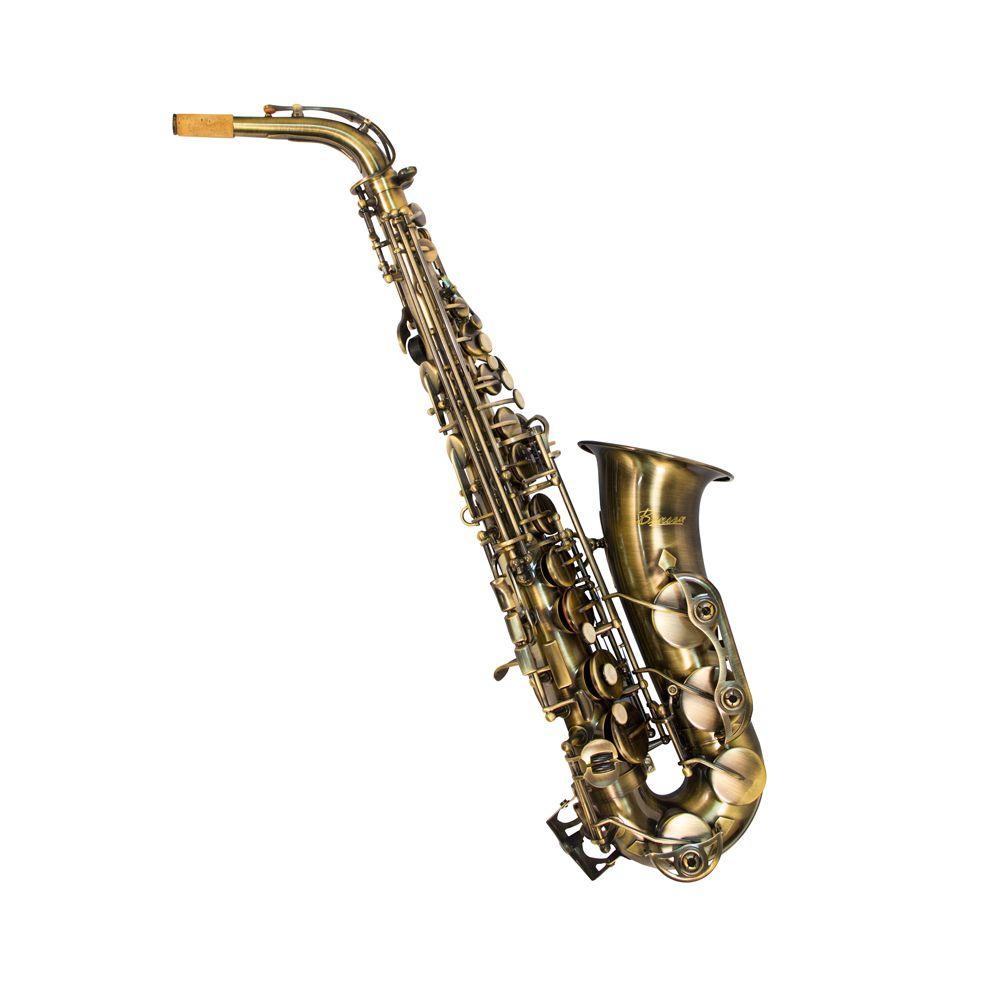 Saxofone Alto Benson BSAC-1V Envelhecido Eb