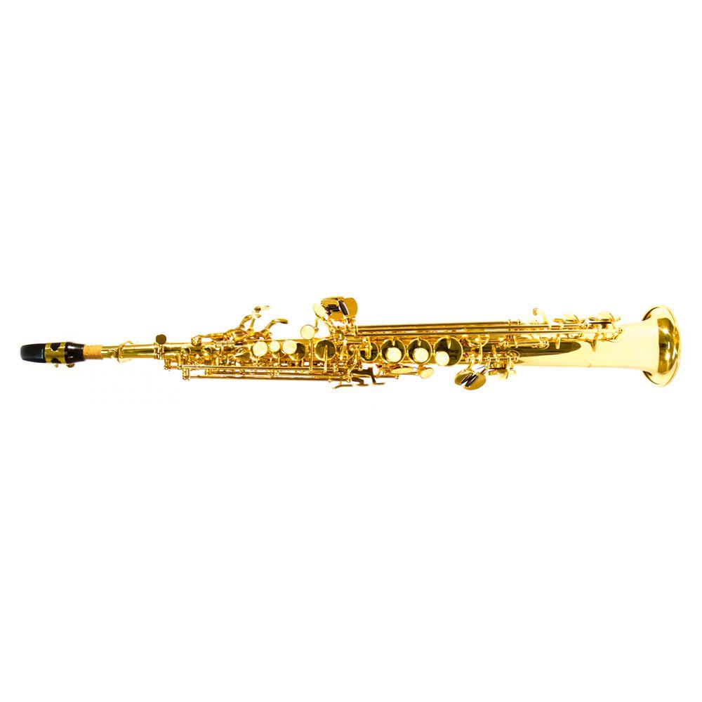 Saxofone Soprano Reto Benson BSSR-1L Laqueado Bb