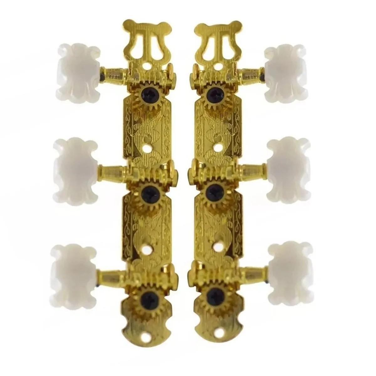 Tarraxas AXCESS Giannini TNY01GD Dourada para Violão Nylon