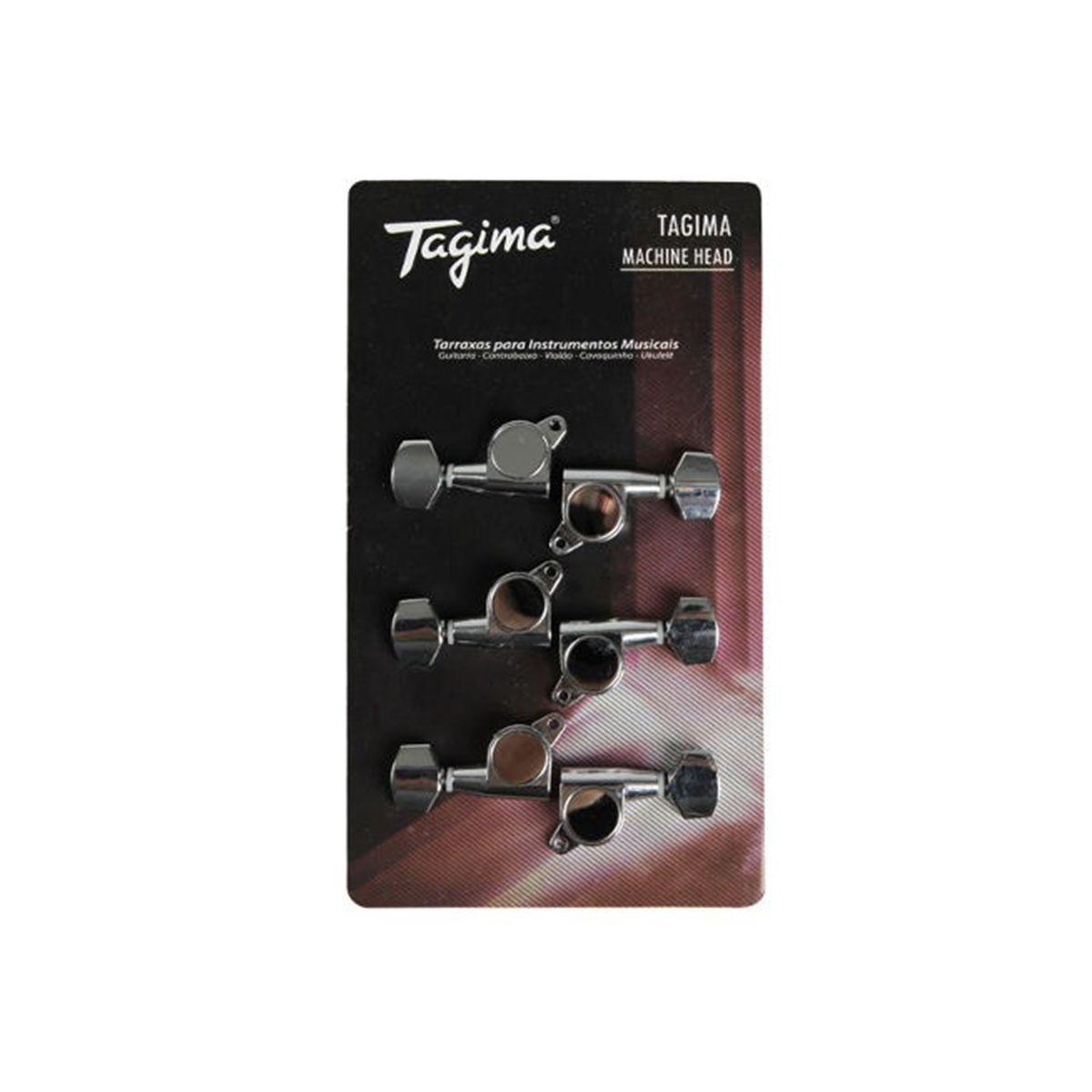 Tarraxas Tagima TMH-807 Blindada para Guitarra