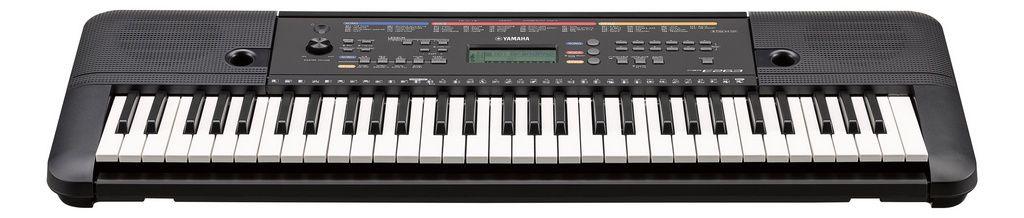 Teclado Arranjador Yamaha PSR E263 61 Teclas com Fonte
