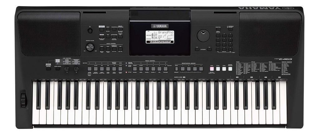 Teclado Arranjador Yamaha PSR E463 61 Teclas