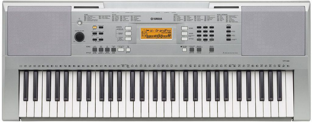 Teclado Arranjador Yamaha YPT340 61 Teclas