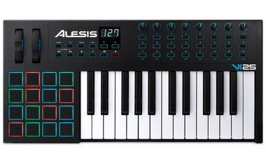 Teclado Controlador Alesis VI25 USB 25 Teclas
