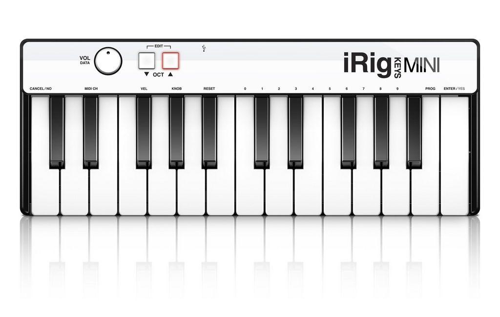Teclado Controlador IK Multimedia iRig Keys Mini 25 Teclas