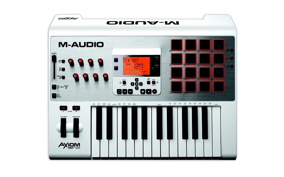 Teclado Controlador M-Audio Axiom Air 25 USB Midi 25 Teclas