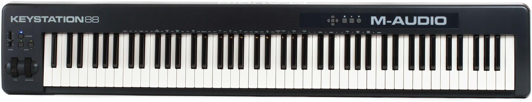 Teclado controlador M-Audio Keystation 88 VII USB  88 Teclas