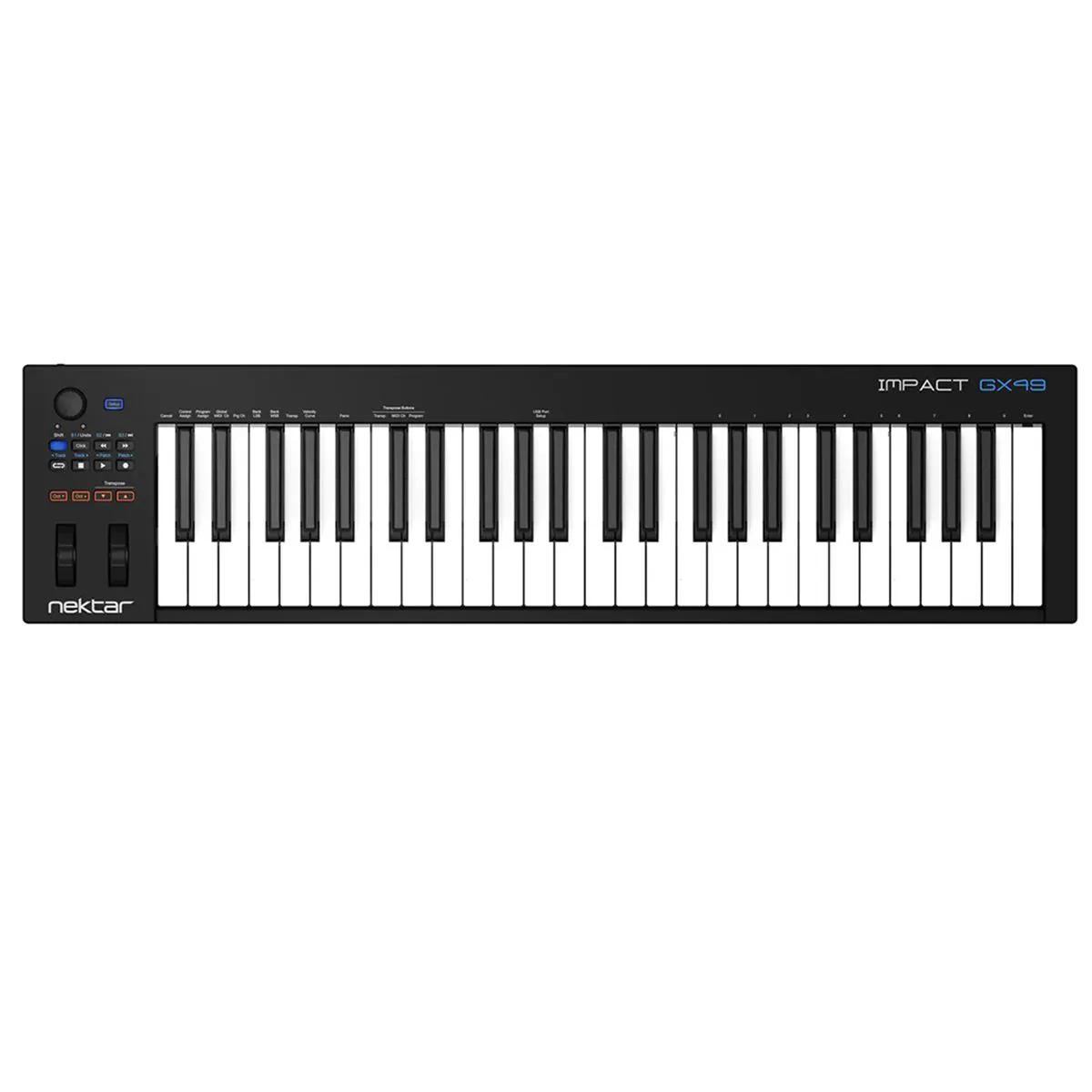 Teclado Controlador Nektar Impact Gx49 MIDI USB 49 Teclas