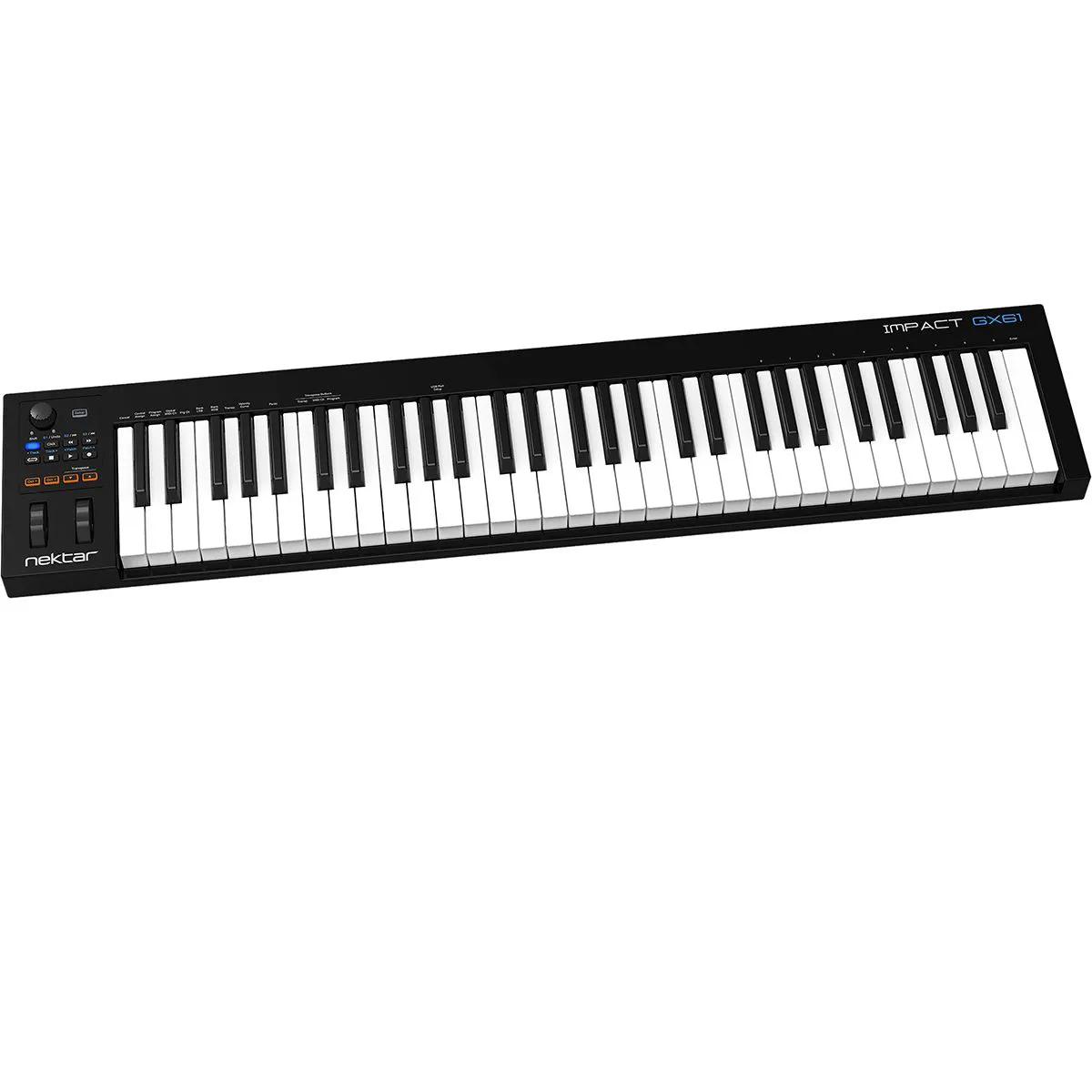 Teclado Controlador Nektar Impact Gx61 MIDI USB 61 Teclas