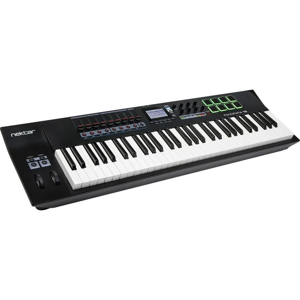 Teclado Controlador Nektar Panorama T6 MIDI USB 61 Teclas