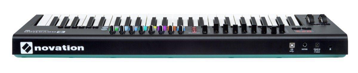 Teclado Controlador Novation Launchkey 49 MKII USB 49 Teclas