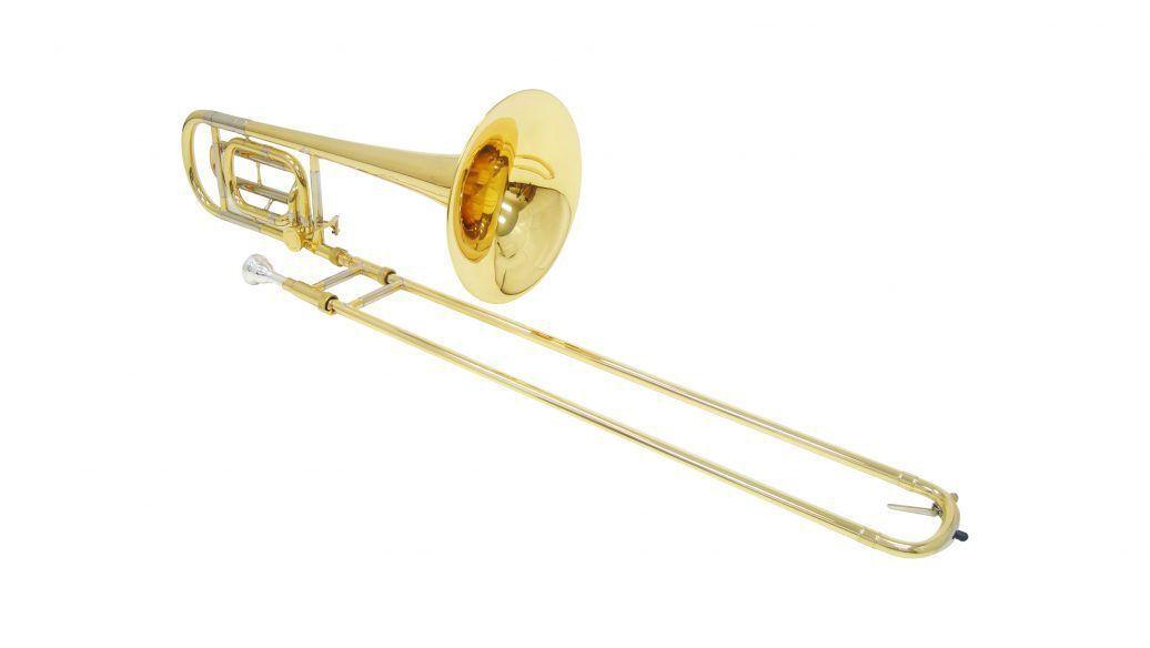 Trombone de Vara com Rotor Shelter TJS6423L2 Laqueado com Case