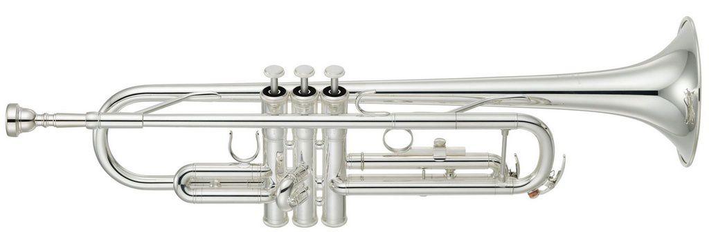 Trompete Yamaha YTR3335 Bb Prata com Case