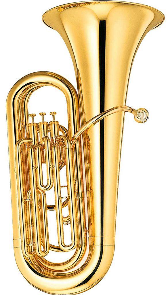 Tuba Yamaha YBB105 Bb Laqueado com Case