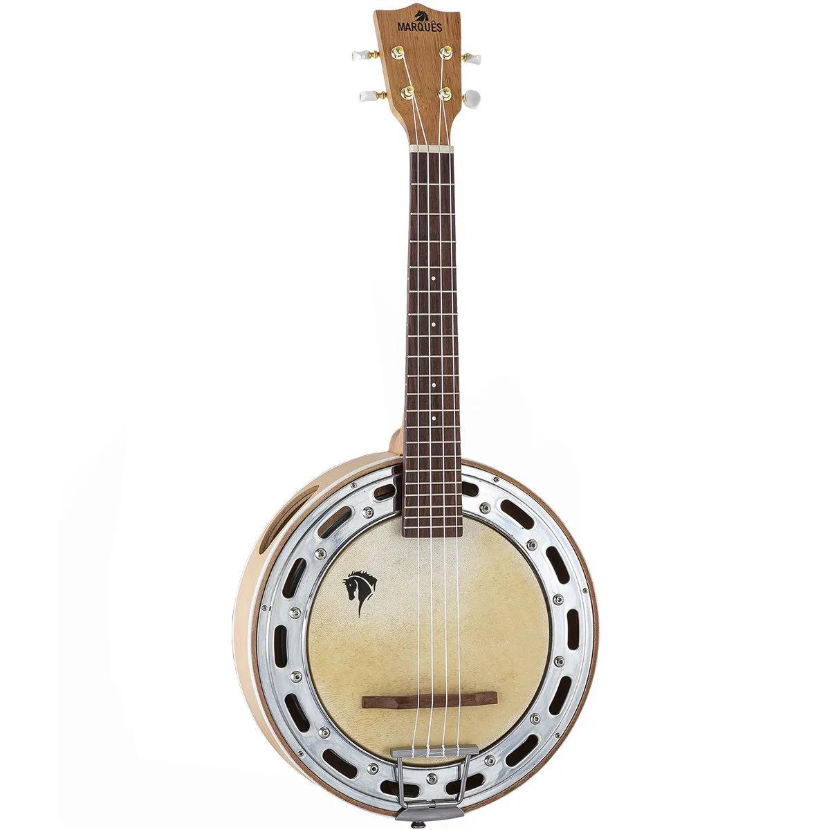 Ukulele Banjo Eletro-Acústico Marquês BLLT-117 Natural