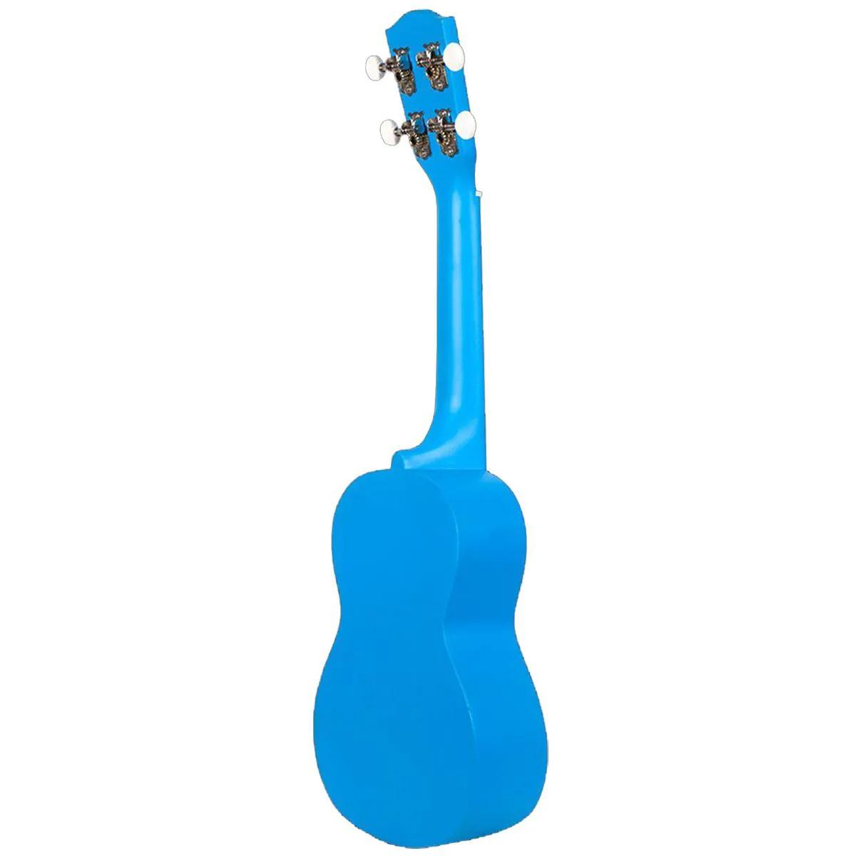 Ukulele Ohana SK-10 Neon Blue Soprano com Cordas Aquila