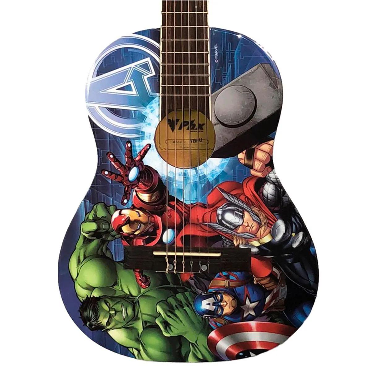 Violão Acústico Juvenil PHX VIM-A1 Marvel Avengers Nylon