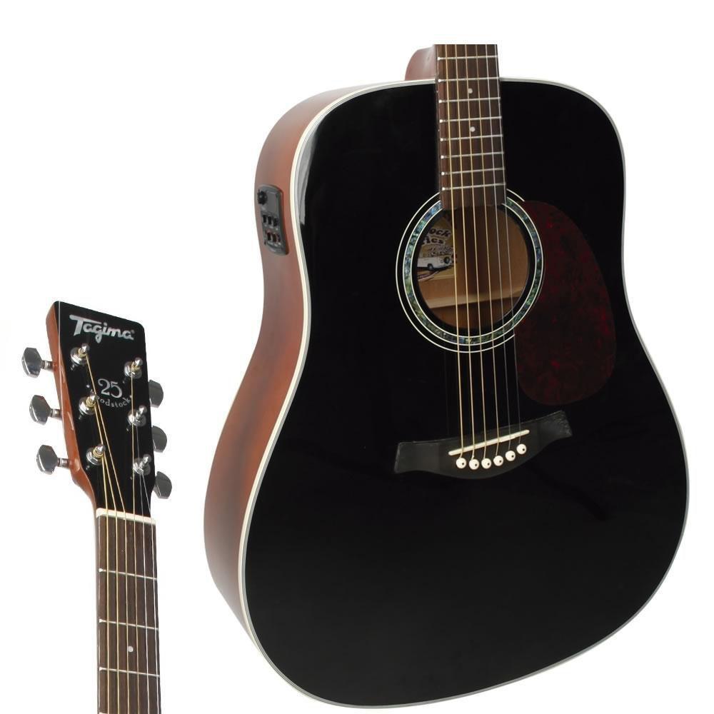 Violão Elétrico-Acústico Tagima TW-25 Folk Black