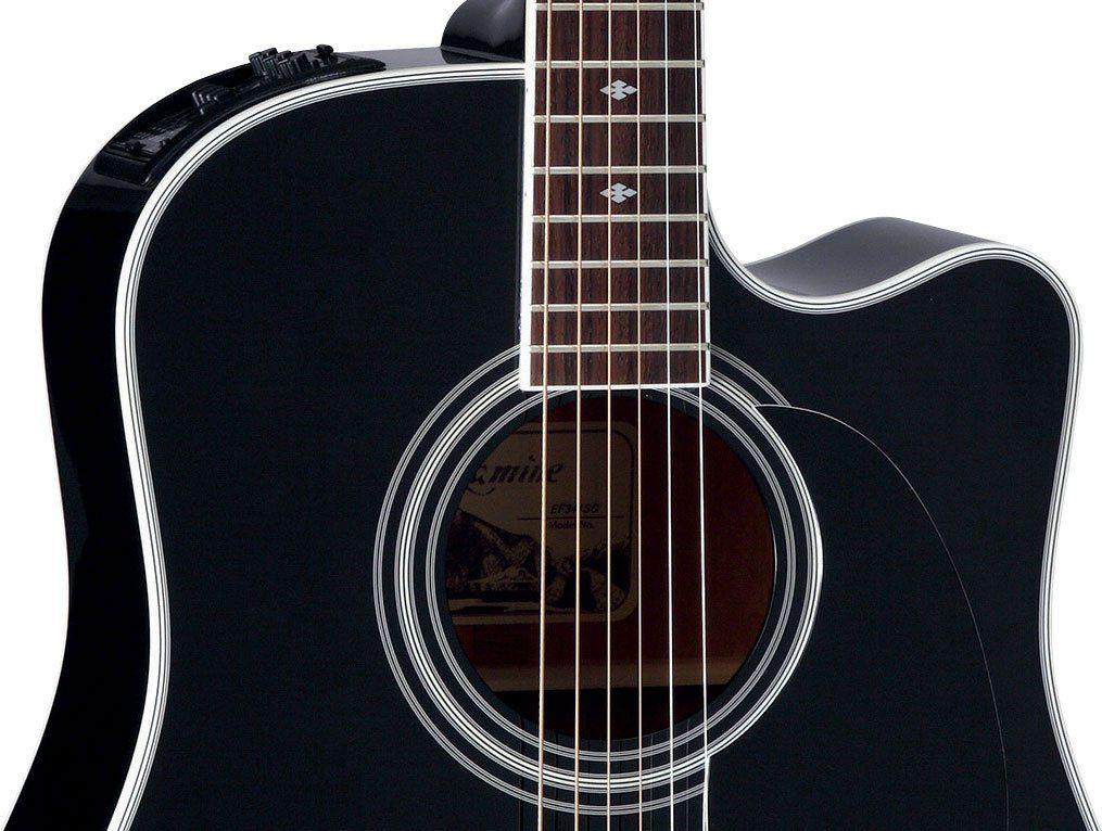 Violão Eletro-Acústico Takamine EF341SC CT4BII Folk com Case
