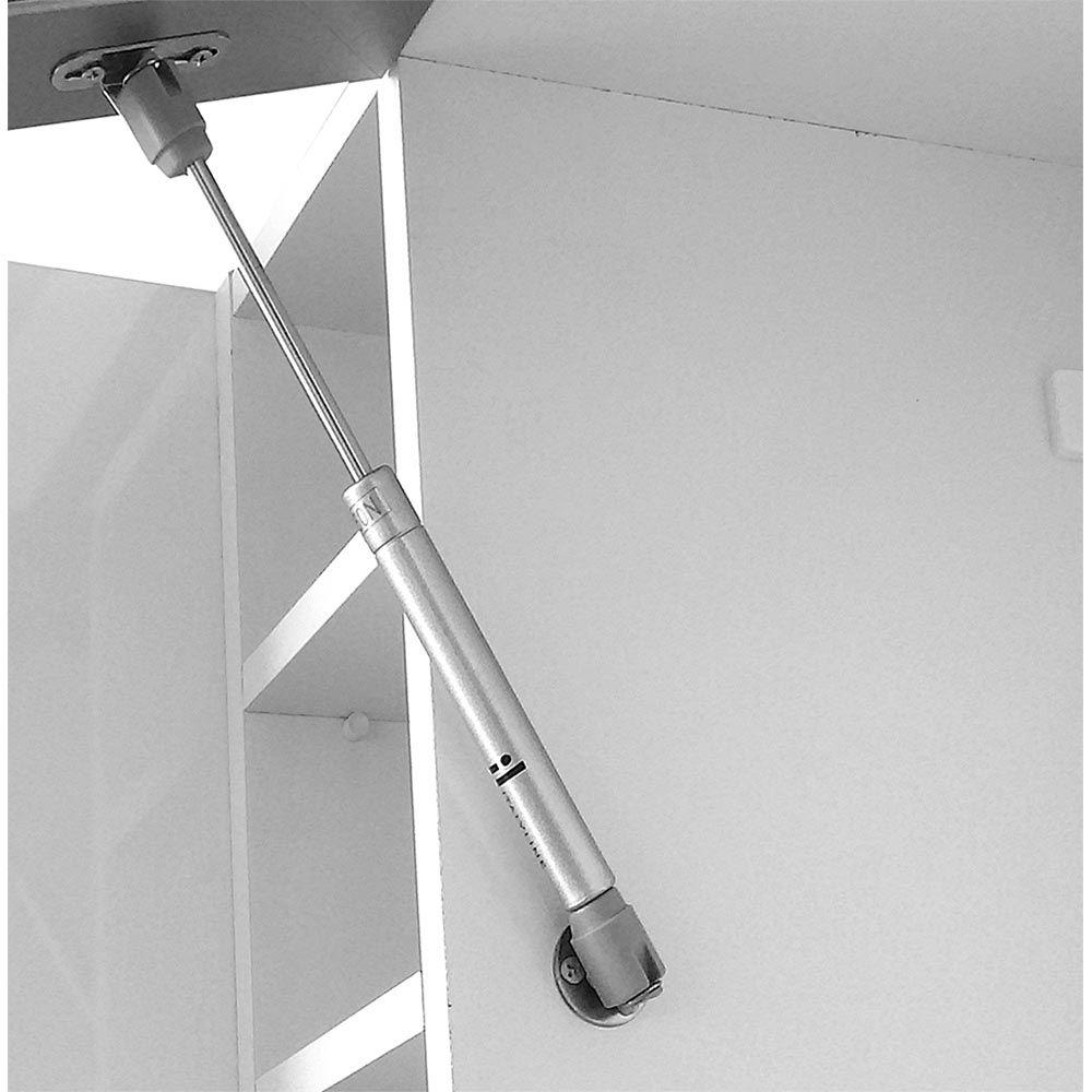 Armário 1 Porta Basculante Turmalina Mocaccino - CHF