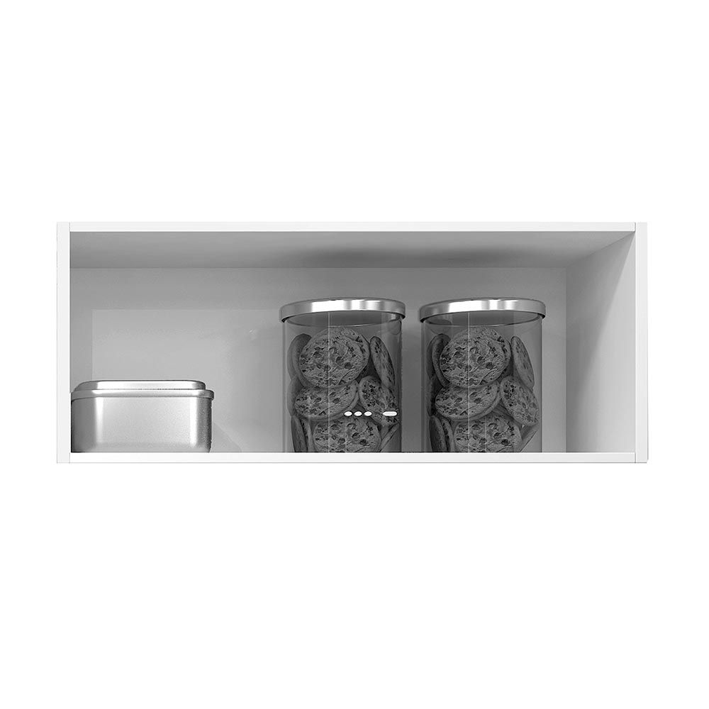 Armário 1 Porta Basculante Turmalina Mocaccino/Teka - CHF