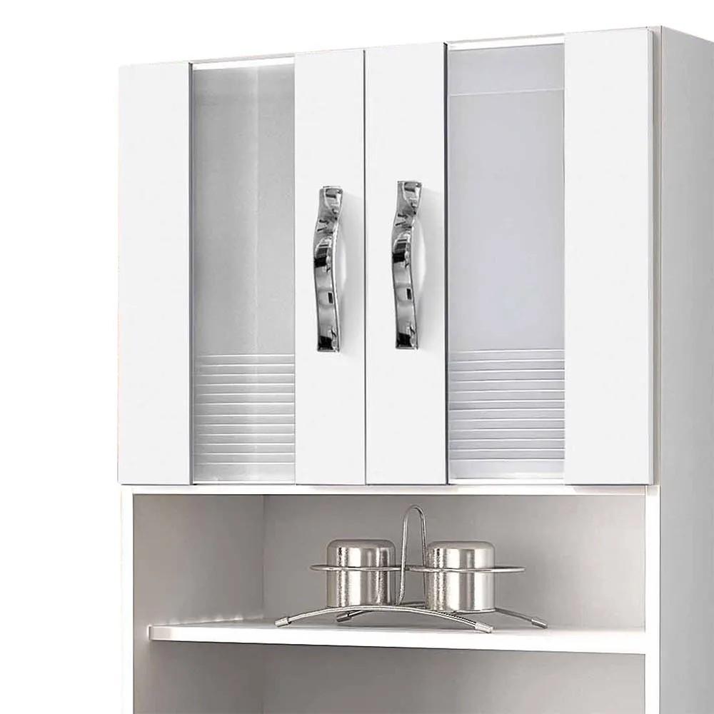 Armário de Cozinha 4 Portas Ventura Branco - CHF