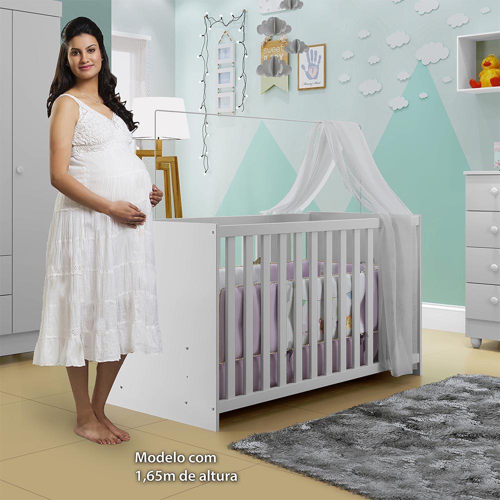 Berço Life Branco - Tigus Baby