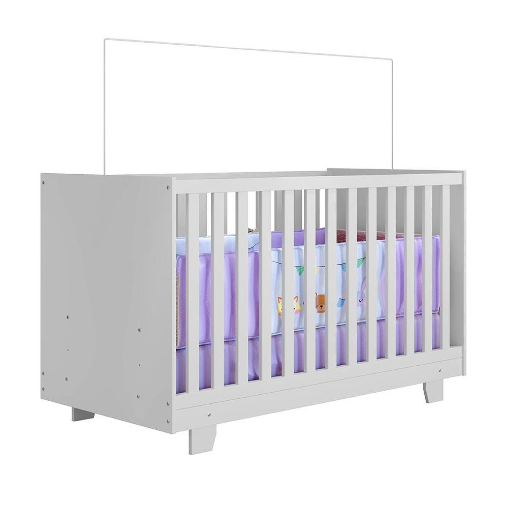 Berço Mini Cama Life - Branco -  Tigus Baby