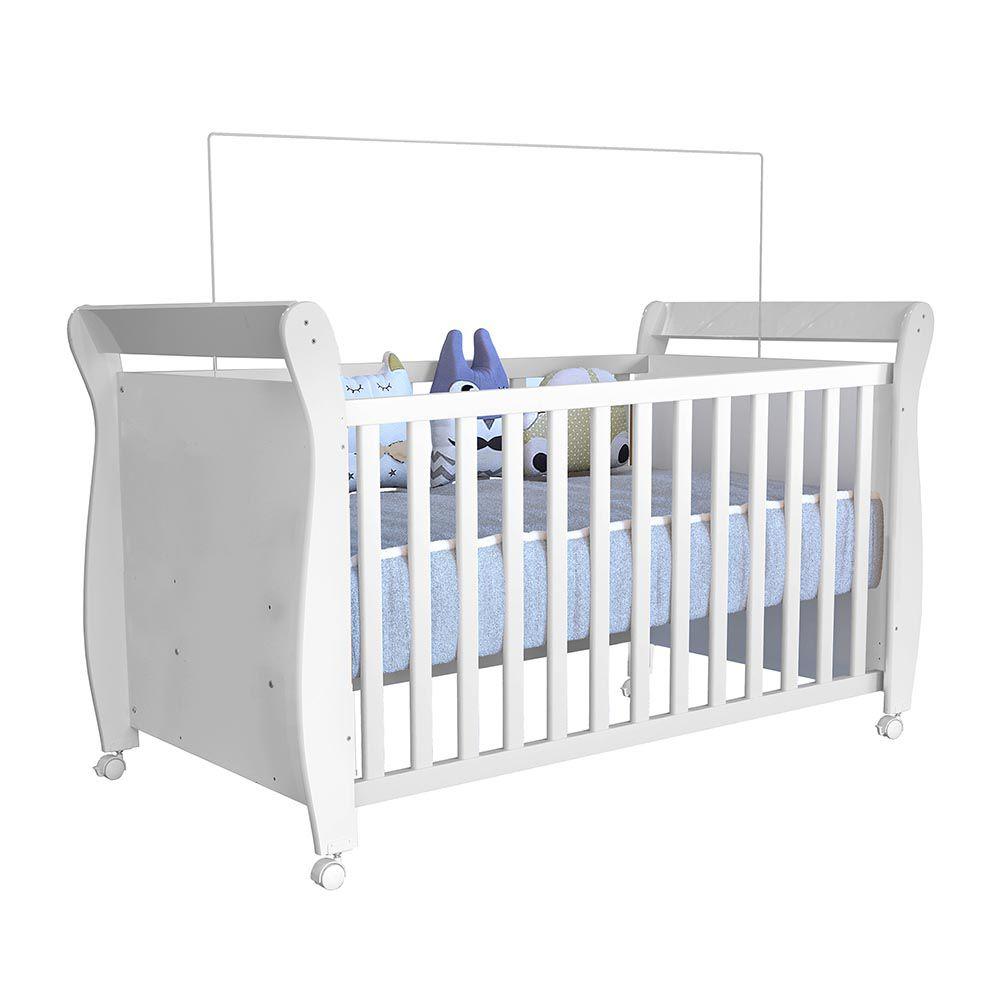 Berço Minicama Slim Branco - Tigus Baby
