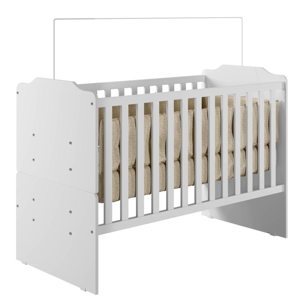 Berço Minicama Titico - Branco -  Tigus Baby